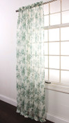 Ashley Rod Pocket Curtain - Spearmint