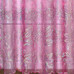 Bling Rod Pocket Curtain - Pink