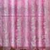 Bling Rod Pocket Valance - Pink