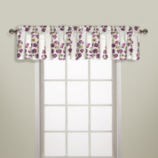 Chelsea Rod Pocket Valance - BURGUNDY