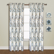 Chelsea Rod Pocket Curtain Panel - BLUE