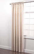Colorado Foam Back Rod Pocket Curtain Panel - CREAM