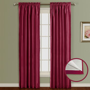 Lincoln Room Darkening Rod Pocket Panel - BURGUNDY