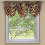 Ombre Waterfall Valance - Autumn