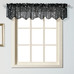 Savannah valance - Black