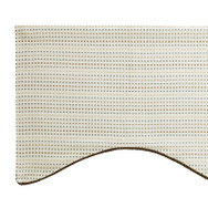 Tyler Scalloped Valance - CRYSTAL
