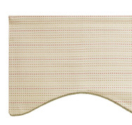 Tyler Scalloped Valance - SPRING