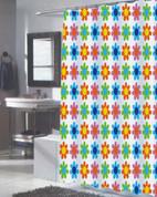 Abbie Extra Long Shower Curtain