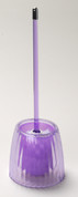 Acrylic Ribbed Bowl Brush - Magenta