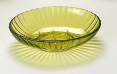 Acrylic Ribbed Soap Dish - Palm Green