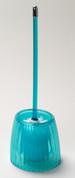 Acrylic Ribbed Bowl Brush - Cerulean Blue
