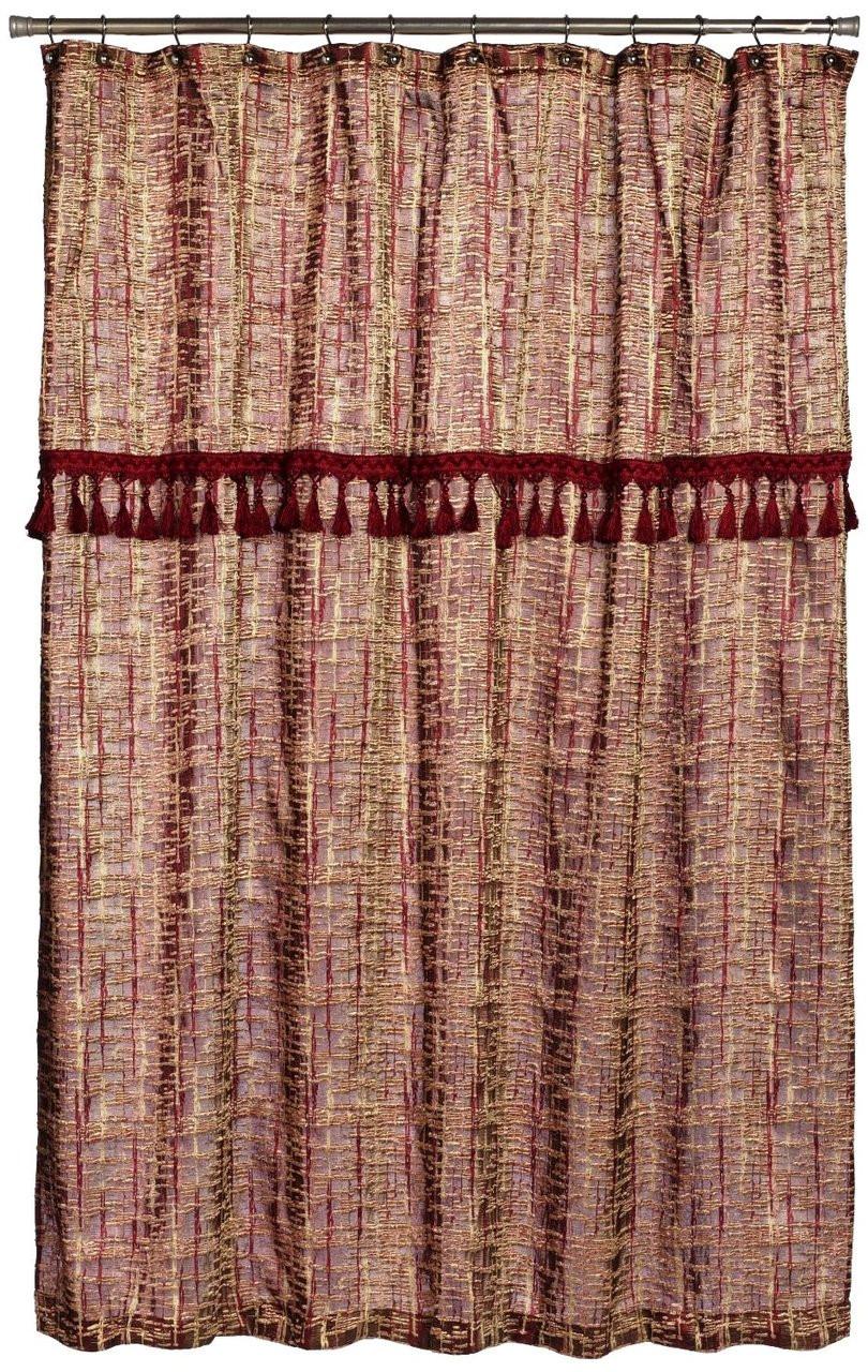 Home Barbara Fabric Shower Curtain