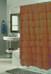 Carmen Ruffled Shower Curtain - Brown