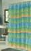 Carmen Ruffled Shower Curtain - Ombre