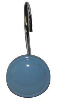 Color Rounds Shower Hooks - Slate