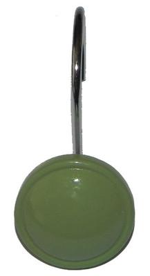 Color Rounds Shower Hooks - Sage