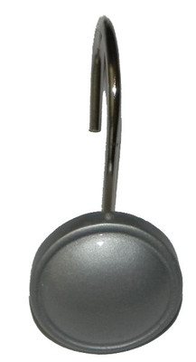 Color Rounds Shower Hooks - Silver
