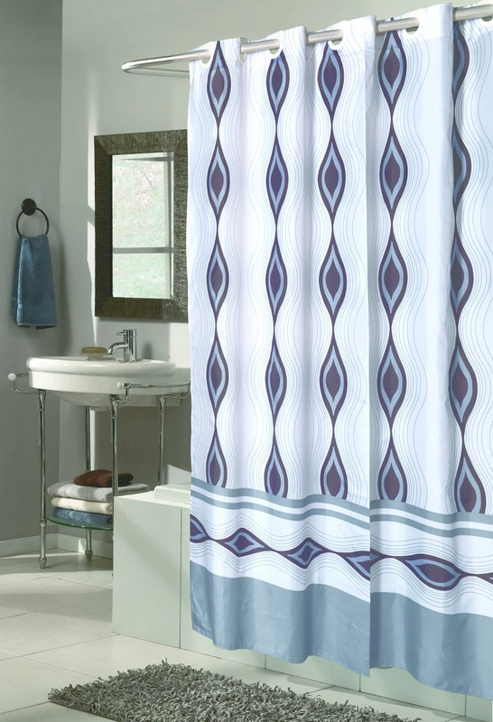 EZ On Shower Curtain