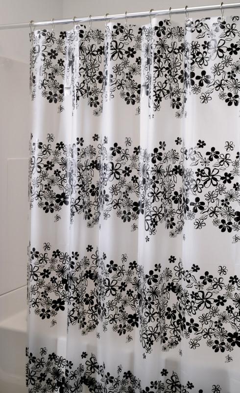 Fiore Vinyl Shower Curtain