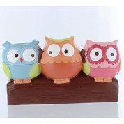 Hooty Owls toothbrush holder