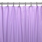 Hotel Quality Vinyl Shower Curtain Liner - Lilac