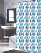 Isabelle Extra Long Shower Curtain