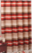 Madison Stripe - Fabric Shower Curtain