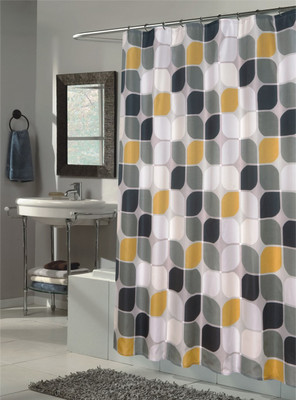 Metro Extra Long Shower Curtain