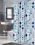 Mia Extra Long Shower Curtain