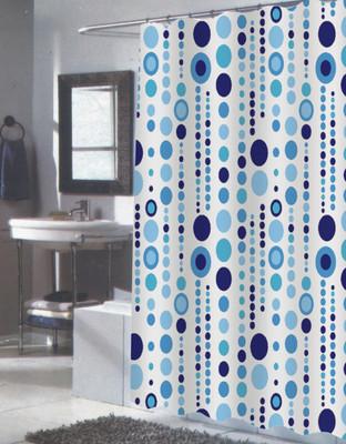Mia Extra Long Shower Curtain