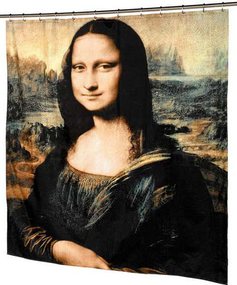 Mona Lisa Shower Curtain