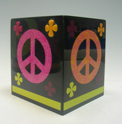 Peace Out - Tissue Box