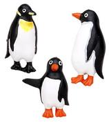 Penguins Shower Curtain Hooks - set of 12