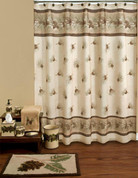 Pinehaven - Shower curtain and bathroom accessories collection