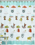 Raining Cats & Dogs - Shower Curtain