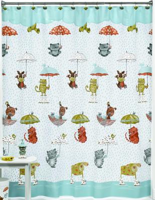 Raining Cats & Dogs - Shower Curtain