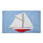 Sailing bath rug