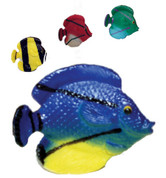 Sealife Tropical Fish Shower Curtain Hooks - set of 12