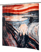 The Scream Shower Curtain