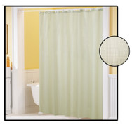 Waffle Weave FABRIC Shower Curtain - IVORY