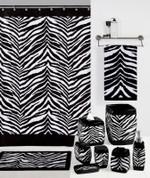 Zebra Black - Wastebasket