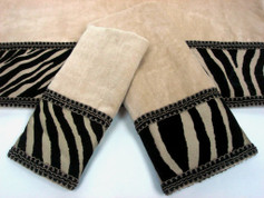 Zuma Embellished 3pc Towel SET