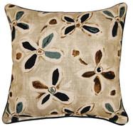 Alhambra Throw Pillows (Set of 2) - Teal