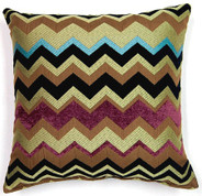 Chevron Throw Pillows (Set of 2) - Lime