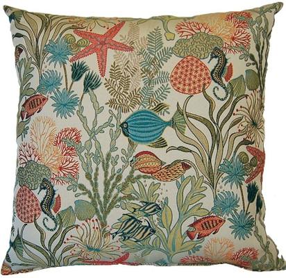 Makko Throw Pillows (Set of 2) - Aqua