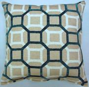 Mandi Throw Pillows (Set of 2) - Teal