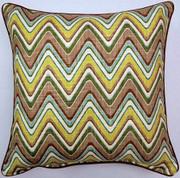 Sand Art Throw Pillows (Set of 2) - Spa