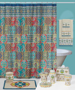 Sasha Shower Curtain and Bath Accessories Collection