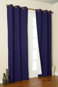 Weathermate Thermologic Grommet Top Curtain pair - Navy