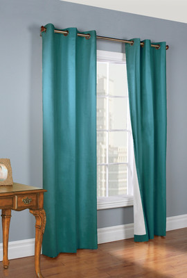 Weathermate Thermologic Grommet Top Curtain pair - Teal